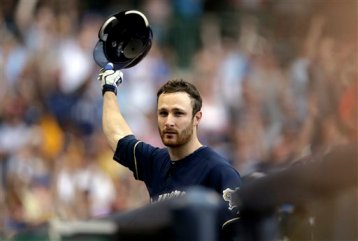 Lucroy basking in a much deserved curtain call.